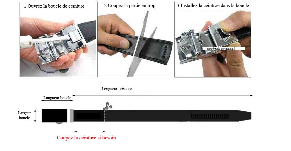 Comment couper une ceinture automatique